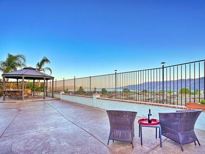 Photo for NEW! Lake Elsinore Townhome w/ Mtn. Views & Grill!