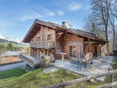 Photo for Chalet Elva : Traditional chalet located in a quiet hamlet in Mont d'Arbois