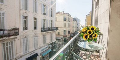 Photo for Beautiful 3 bedroom apartment off La Croisette in the heart of Cannes