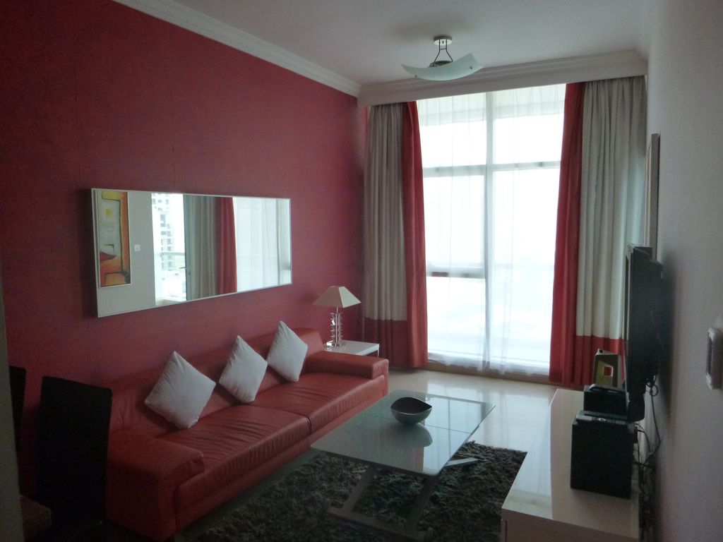 1 Bed Serviced Apartment with Marina View.  End of JBR Photo 1