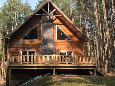 Photo for Recently built luxury cabin in Lake Placid region minutes away from Whiteface.