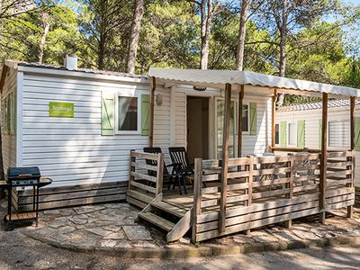 Photo for Camping Zagarella **** - Cozy 3-Room Mobile Home 5/6 People