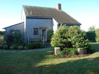 Photo for Enjoy a rural Nantucket setting close to Cisco beach and town.