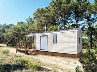 Photo for Camping La Plage *** - Air-conditioned mobile home Wallis 3 rooms 4 persons