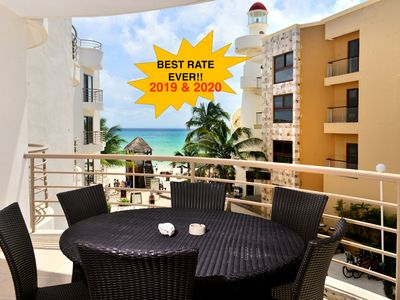 Photo for SPECIAL 2019 & 2020 RATES! Luxurious Beachfront Condo; 2-Bdrm, (CM202)