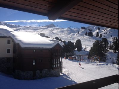 Photo for Apartment Belle Plagne 2 bedrooms 5/6 persons duplex 38m2 at the foot of the slopes