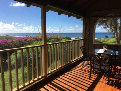 Photo for Paniolo Hale I3 is an Ocean Front Spacious condo just steps from the beach