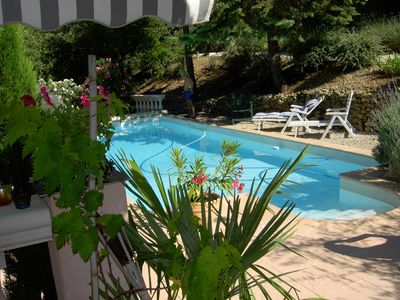 Photo for Villa with pool in Provencal village