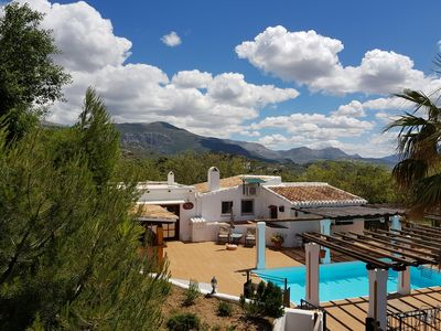 Photo for Cottage with big pool in countryside of Malaga