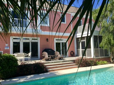 Photo for Resort living on IOP Wild Dunes Beach with private pool, 2nd row to beach, bikes