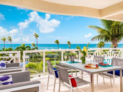 Beachfront 2 bedroom luxury condo - Summer Special $450 per night!