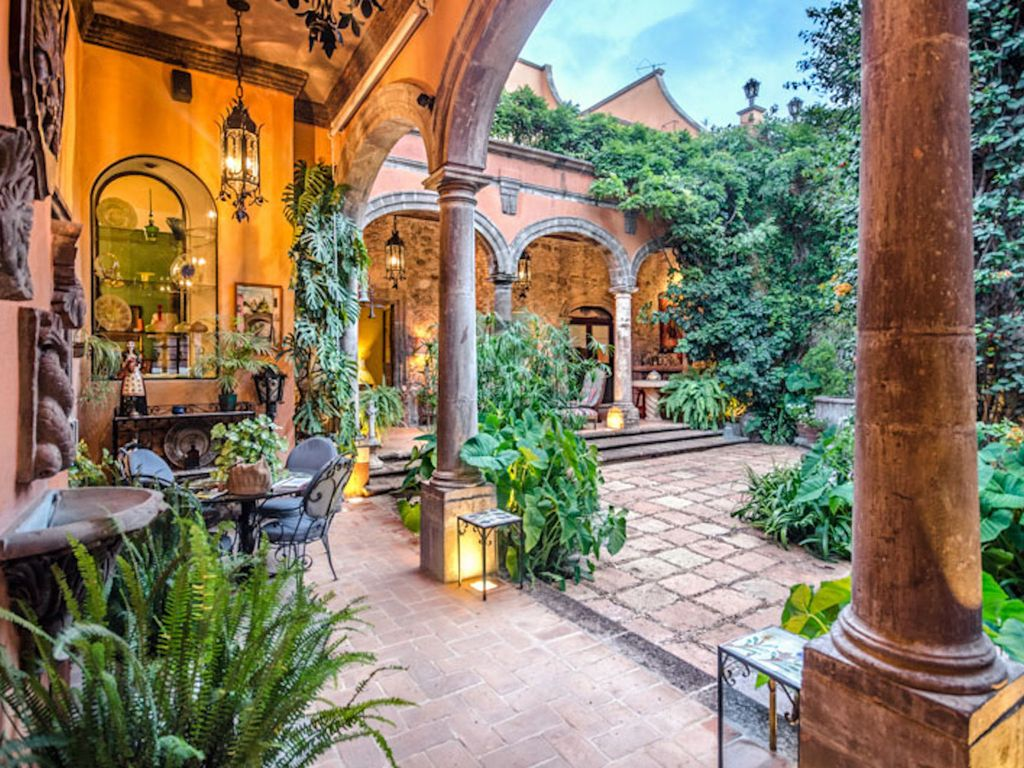 An authentic spanish colonial gem in centro homeaway for Imagenes de casas coloniales