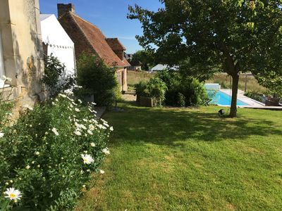 Photo for Family house with pool in Normandy