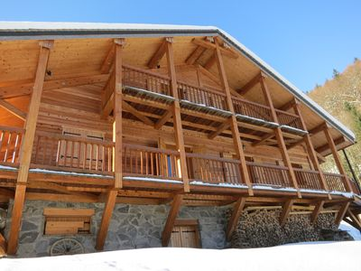 Photo for CHALET NEAR MORZINE AVORIAZ TO RENT BEAUTIFUL HEAVY LARGE CAPACITY SPA SAUNA