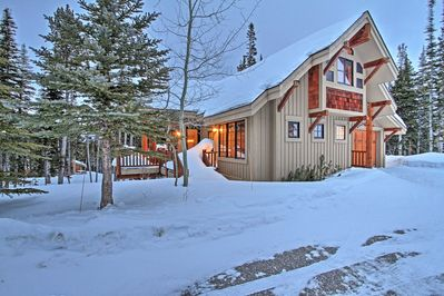 This vacation rental home in Big Sky is perfect for your next getaway.