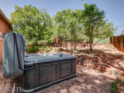 Photo for 4BR ☃ Mtn Dream! ❄ Fireplace, Patio & Hot Tub