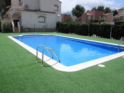 Photo for ApartBeach Residencial BlauVerd, con piscina y barbacoa