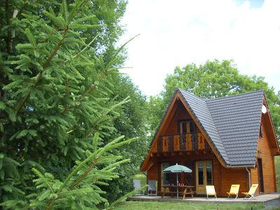 "Photo for CHALET BOIS + SPA ""Les Ecureuils"" N ° 3 (4 stars) MONT DORE / MOUNTAIN VIEW"