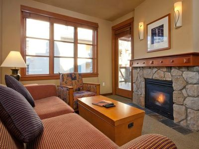 Photo for Squaw Village Ski-in Ski-Out One Bedroom Condo Mt. View Unit -2nd Floor