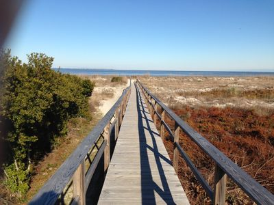 Photo for 1 BR/1.5 BA  Ocean & Marsh View!  Free WiFi! Nature At It's Best! Private Island