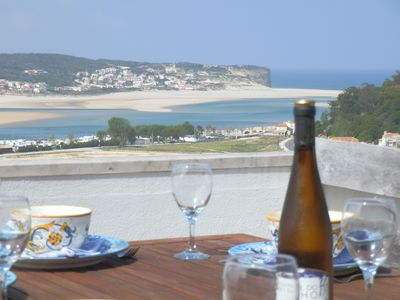 Photo for Panoramic, Pool, Beach, Tennis, Foz do Arelho, Obidos Lagoon Surf Sailing Golf