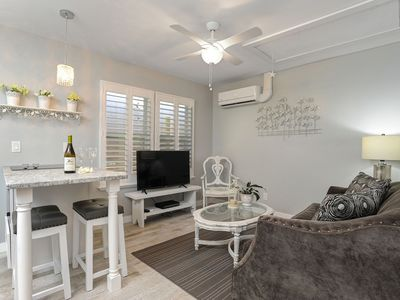"""Photo for Small Space Beach Living! NEW 1BR Cottage """"HGTV Worthy"""" A+ Location!"""