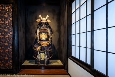 Samurai Jim, the house protector in his Tokonoma (Alcove)