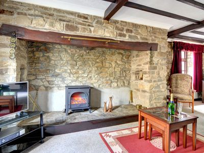 Photo for Detached holiday home with fireplace, garden, and authentic wooden beams