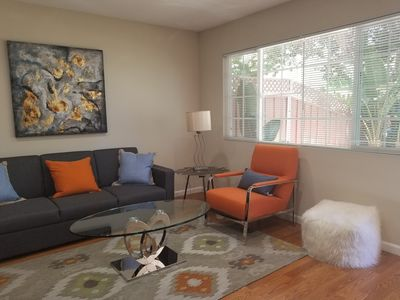 Updated modern living space