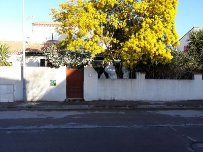 Photo for quiet house in a quiet private street 4km from the sea (Carnon West)