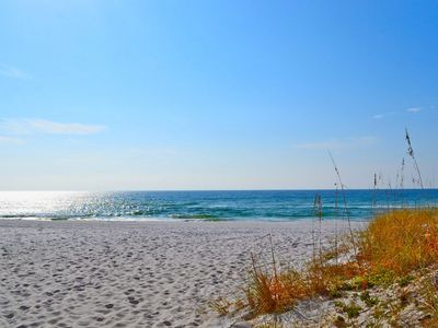 Photo for Secluded beach spot right outside your door!