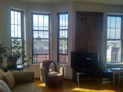 Photo for Large, sunny, views and 2 cats - sublet from Dec 21st to Jan 1st