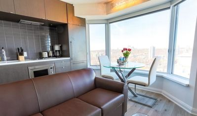 Photo for SUNSET VIEWS ! 1 BEDROOM 1 BATH Bellamond YORKVILLE suite at the former FOUR SEASONS HOTEL