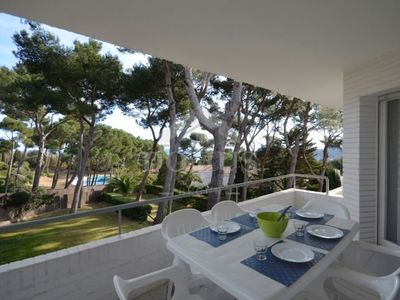 Photo for 3 bedroom Apartment, sleeps 5 in Fornells de la Selva with Pool and Air Con