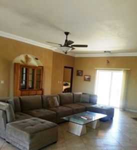 Large Living Room with Sectional