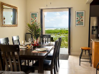 Photo for Meelie's Paradise villa : Ocean views, WiFi, BBQ, infinity Pool, Cable TV,