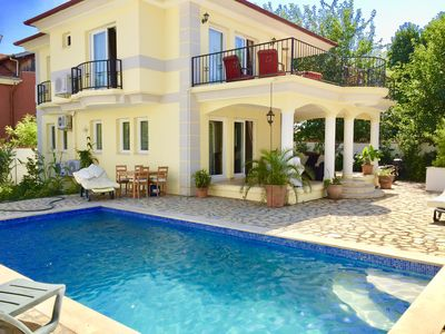 Photo for Beautiful Villa with Private Pool in walking of  distance of Koycegiz Village