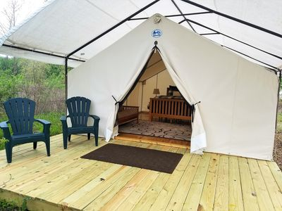 Social Distance in a Tiny Off Grid A-Frame Cottage - Glamping St. Louis