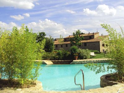 Photo for House with character with pool in a medieval bourg at only 3km from Cortona