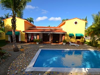 Photo for Guest-friendly 3- Bedroom Villa With Private Pool Near The Beach In Sosua
