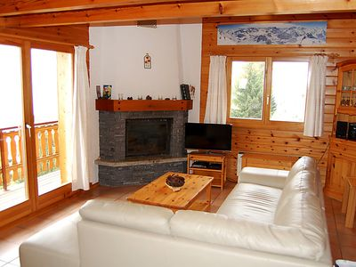 Photo for Vacation home Chalet Boucaro in Nendaz - 8 persons, 4 bedrooms