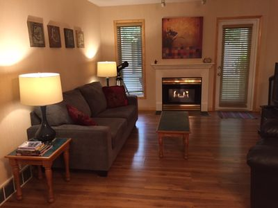 Photo for Great 2 Bedroom Condo! Full Kitchen, Sleeps 6, Near Downtown Canmore, Park Pass