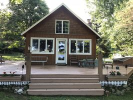 Photo for 2BR Cabin Vacation Rental in Levering, Michigan