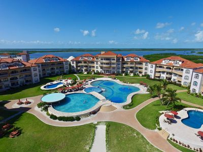 Photo for Luxury Caribbean condo at Belize's #1 resort - GRAND CARIBE