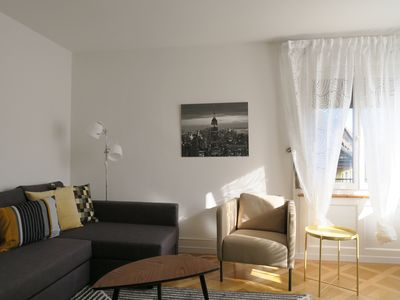Photo for Cozy Newly Furnished Apartment - Zurich City # 301