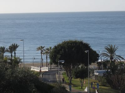 Sea view from bedroom terrace