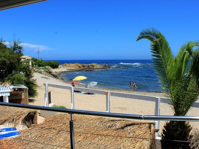 Photo for On the beach double room with terrace