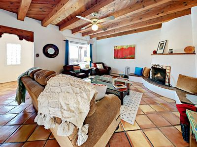 Living Room - Welcome to Santa Fe! Your rental is professionally managed by TurnKey Vacation Rentals.