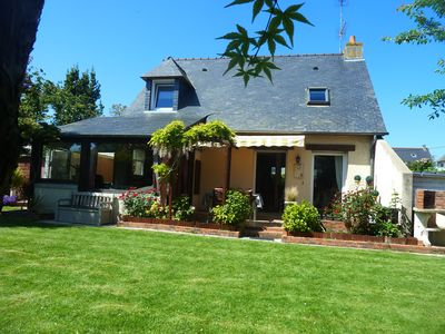 Photo for Beautiful villa in quiet and near the beach of St Malo