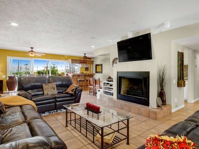 Photo for Gorgeous Views of Shadow Mountain Golf Course! Private Pool & Spa! 2 Car Garage, South Palm Desert!